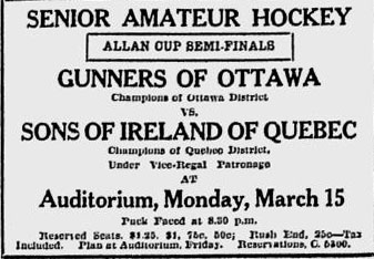 1925-26 Eastern Canada Allan Cup Playoffs