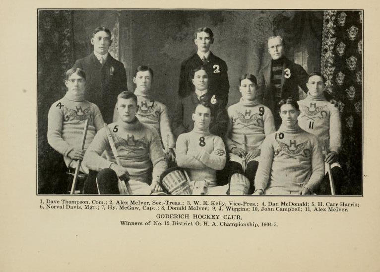 1904-05 OHA Intermediate Groups