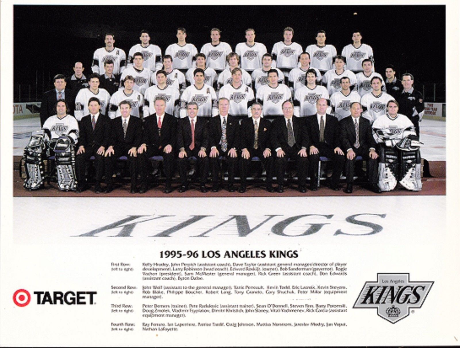 1995–96 Los Angeles Kings season