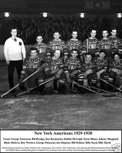 1929–30 New York Americans season