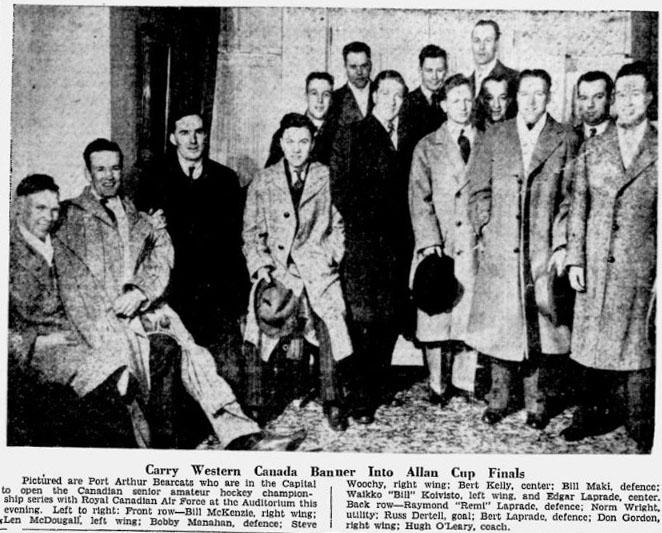 1941-42 Thunder Bay Senior Playoffs