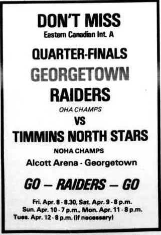 1976-77 Eastern Canada Intermediate Playoffs