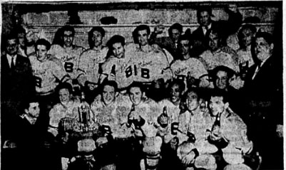 1954-55 Quebec Intermediate Playoffs