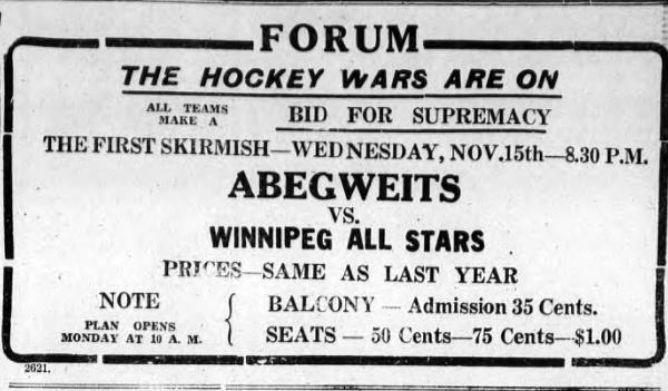 1933-34 Manitoba Senior Hockey League Season
