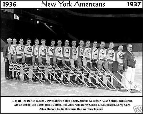 1936–37 New York Americans season