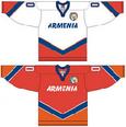 Armenia national ice hockey team Home & Away Jerseys.png