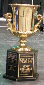 The Kelly Cup MVP Trophy