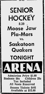 1959-60 Saskatchewan Senior Playoffs