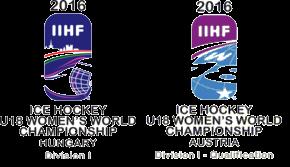2016 IIHF World Women's U18 Championship – Division I