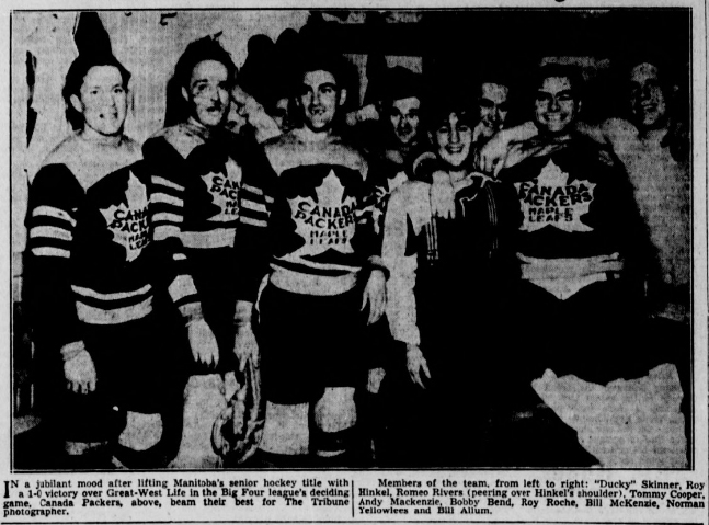 1936-37 Winnipeg Big Four Hockey League Season