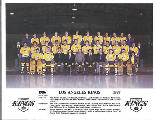 1986–87 Los Angeles Kings season