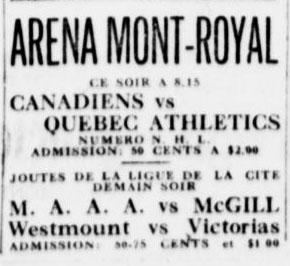 1919–20 Montreal Canadiens season