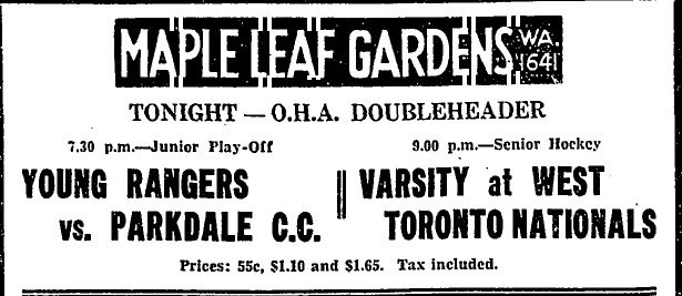 1933-34 OHA Senior A Season