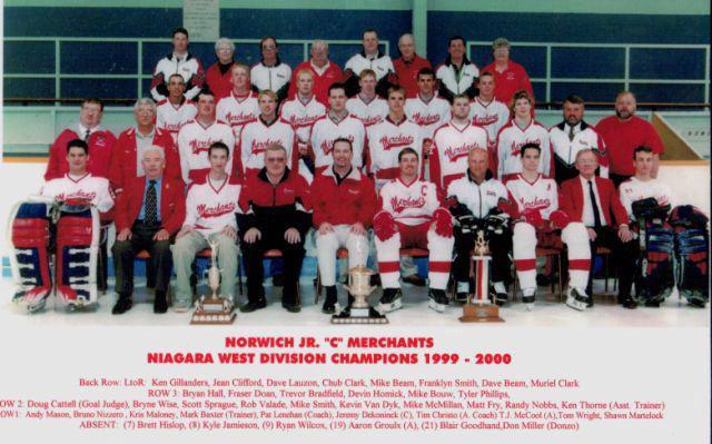 1999-00 NDJCHL Season
