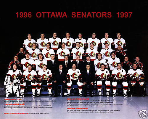 1996–97 Ottawa Senators season