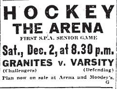 1922 SPA Senior Tournament