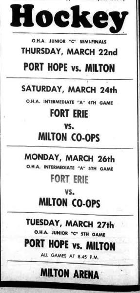 1950-51 OHA Intermediate A Playoffs