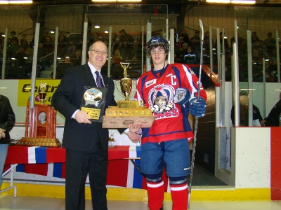 MJHL Hockey Ability & Sportsmanship Award Winners photo gallery