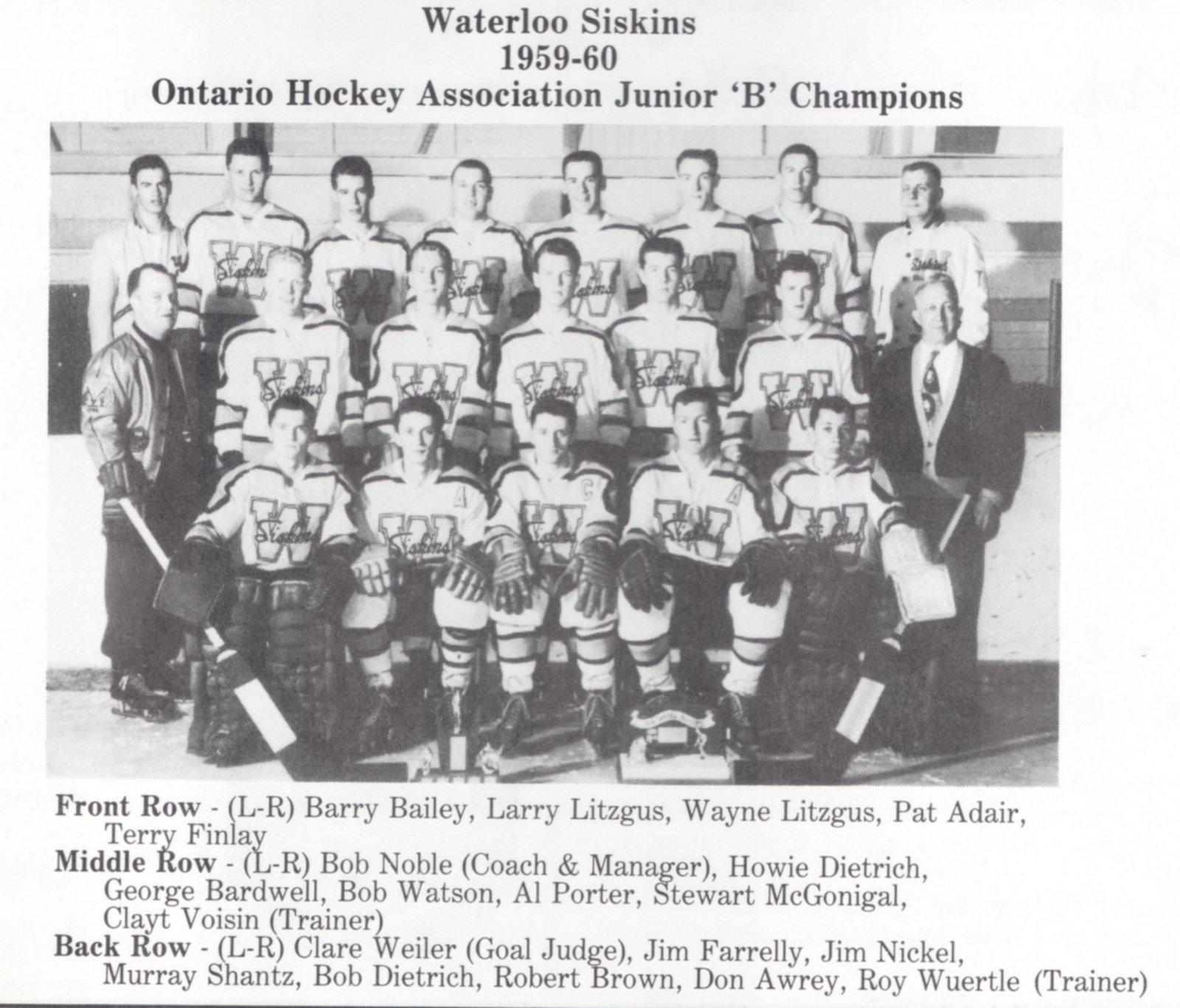 1959-60 CJBHL Season