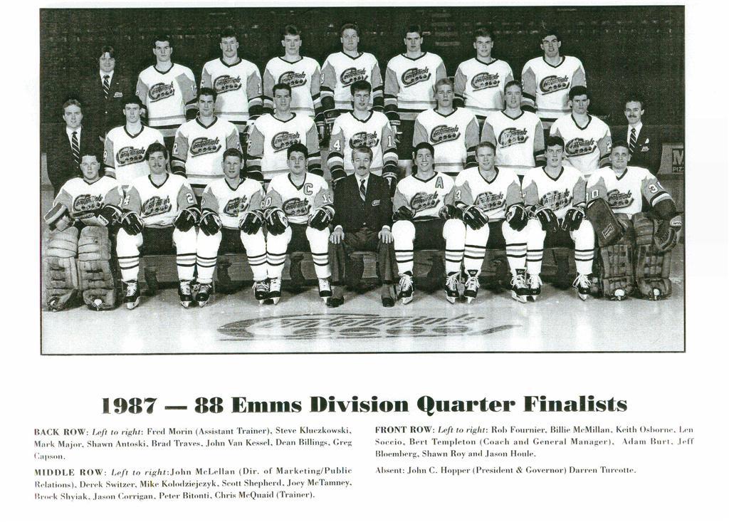1987-88 OHL Season