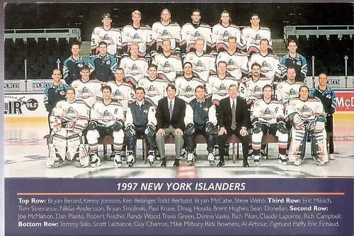 1996–97 New York Islanders season
