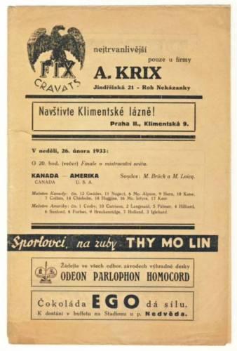 1933 World Championship