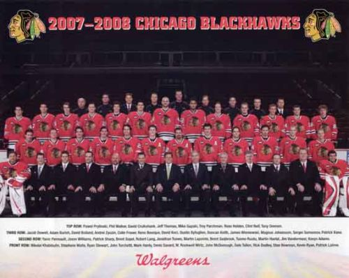 2007–08 Chicago Blackhawks season
