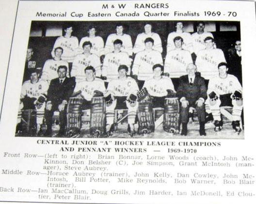 1969-70 CJHL Season