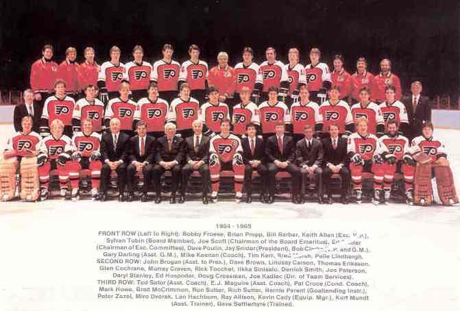 1984–85 Philadelphia Flyers season