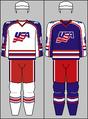 United States national ice hockey team jerseys 1994 (WOG)