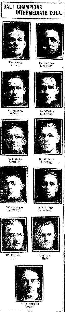1920-21 OHA Intermediate Groups