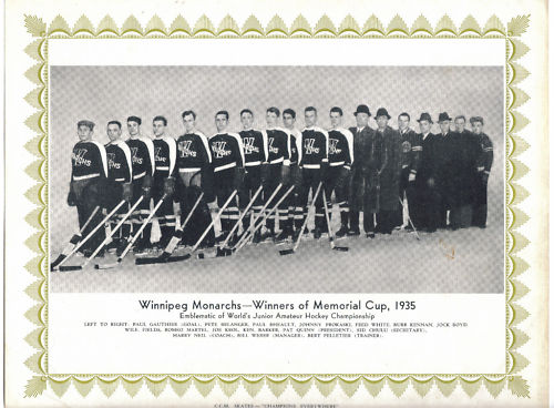 1934-35 MJHL Season