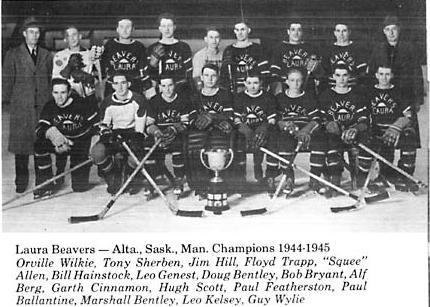 1944-45 Saskatchewan Intermediate Playoffs
