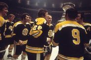 11May1972-Bruins w Cup on ice