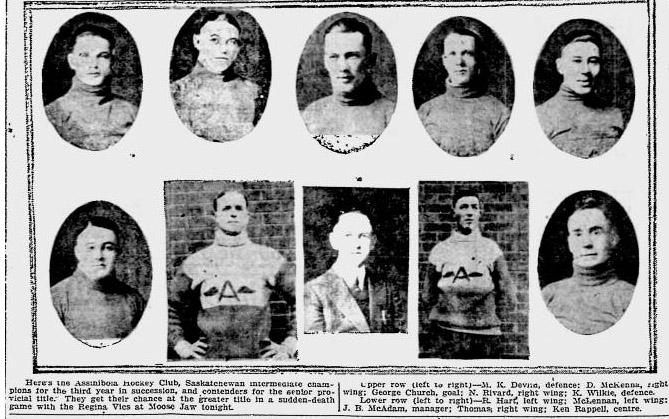 1924-25 Saskatchewan Intermediate Playoffs