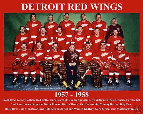 1957–58 Detroit Red Wings season