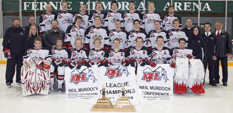 2007-08 KIJHL Season