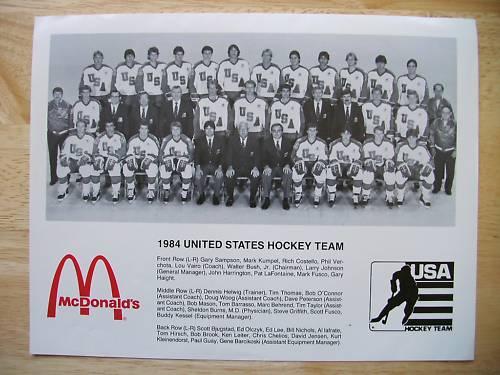 1984 United States national ice hockey team