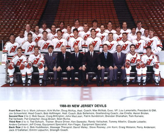 1988–89 New Jersey Devils season