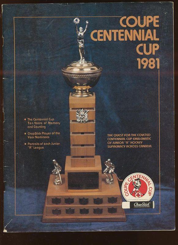 1981 Centennial Cup
