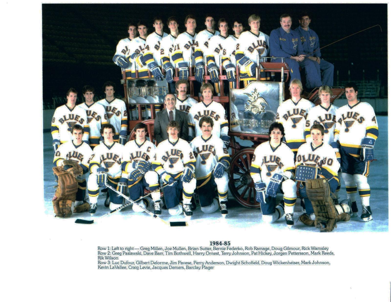 1984–85 St. Louis Blues season