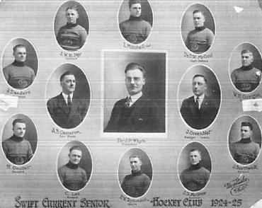 1924-25 Saskatchewan Senior Playoffs