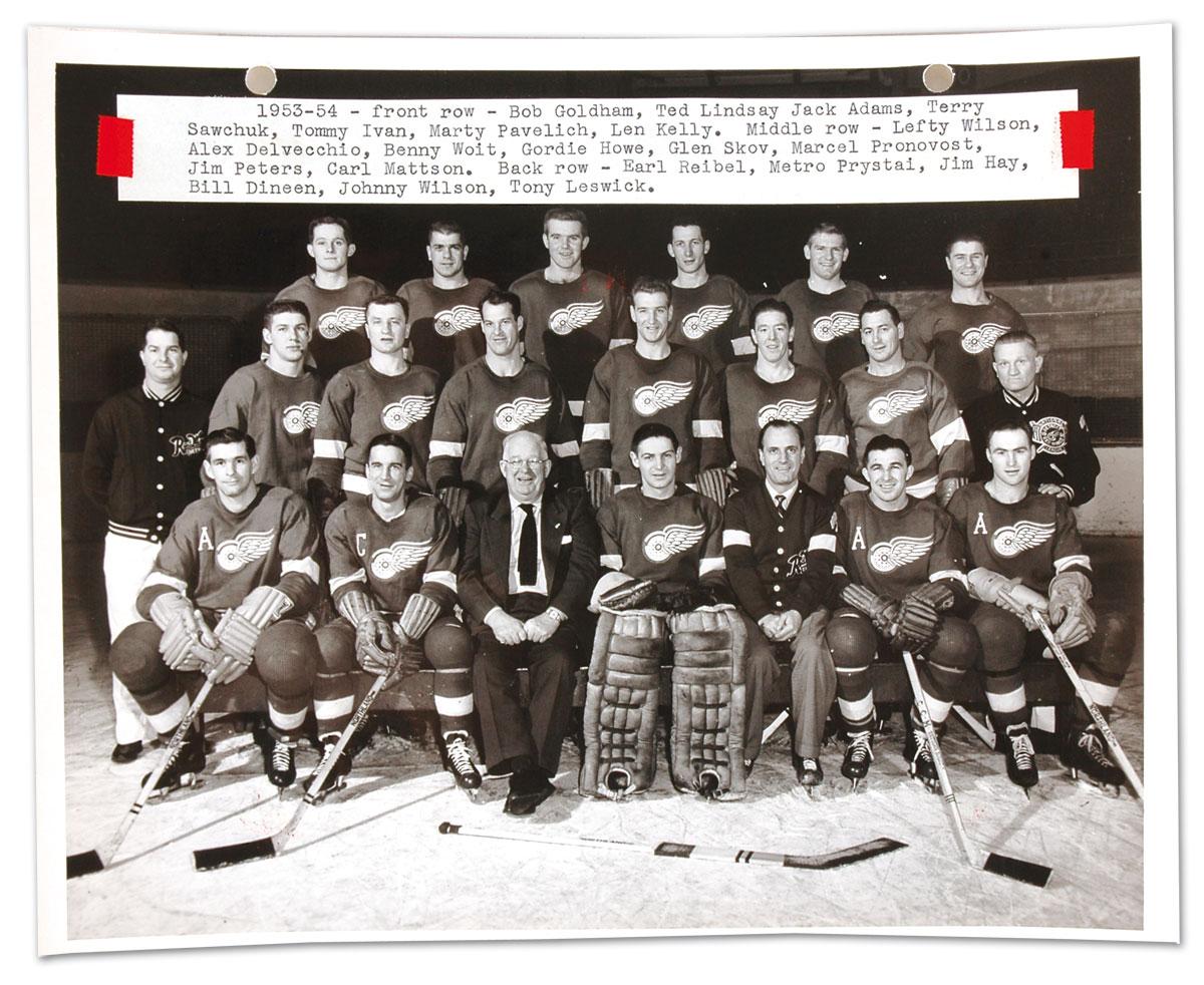1954 Stanley Cup Finals