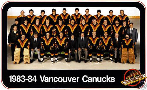 1983–84 Vancouver Canucks season