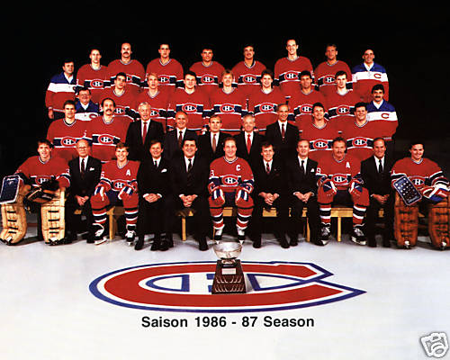 1986–87 Montreal Canadiens season