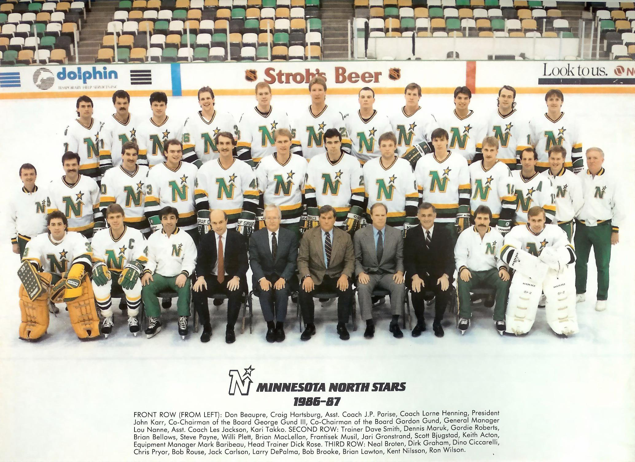 1986–87 Minnesota North Stars season