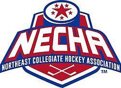 Northeast Collegiate Hockey Association logo