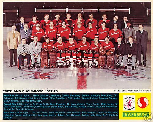 1972-73 WHL (minor pro) Season