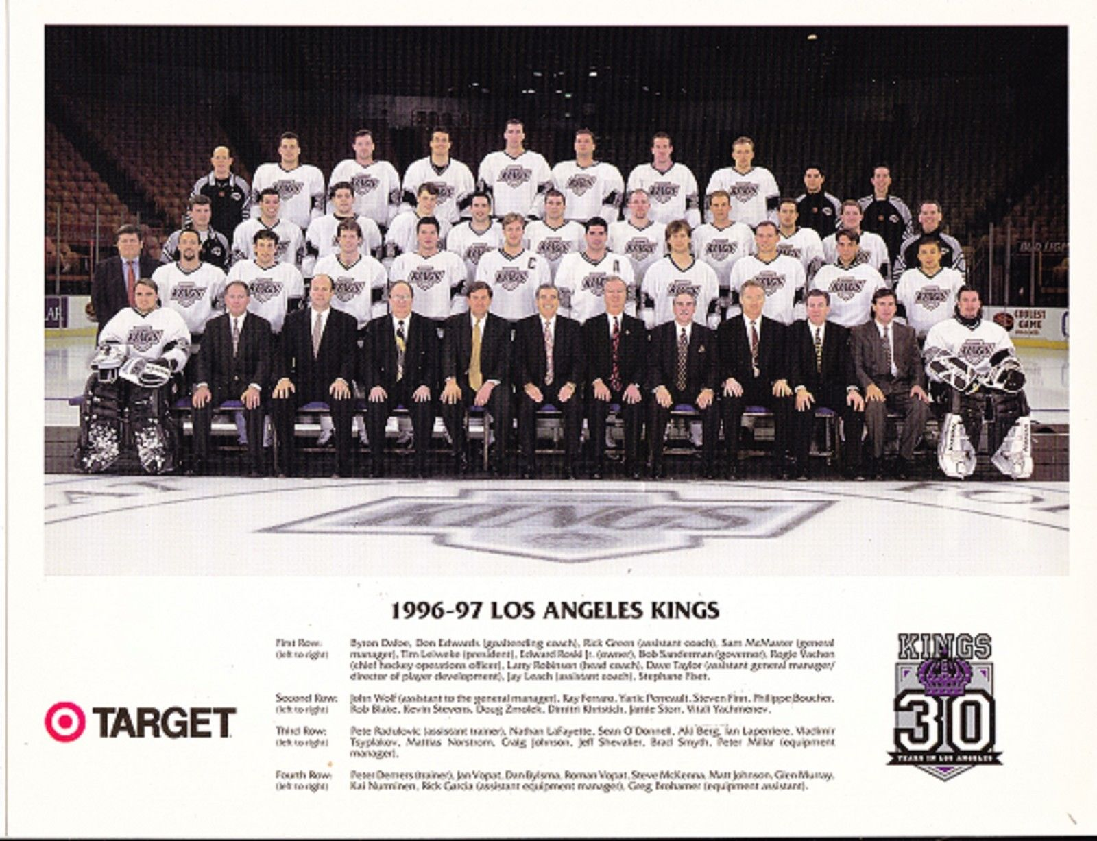 1996–97 Los Angeles Kings season