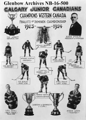 1923-24 Alberta Junior Playoffs